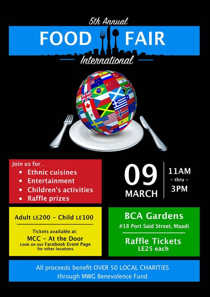Food Fair March 9